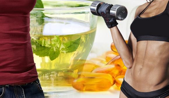 Pierde Peso con Té verde y CLA