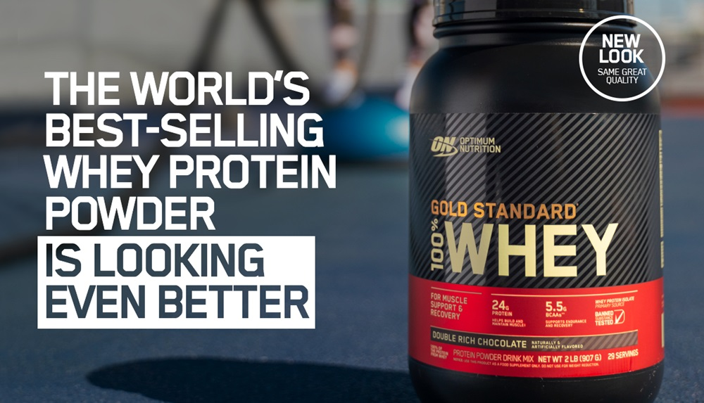 Nueva versión de Gold Standard 100% Whey