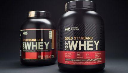 La nueva versión de la 100% Whey Gold Standard en 2020