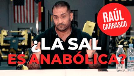 ¿La sal es anabólica? La importancia de la sal en el organismo