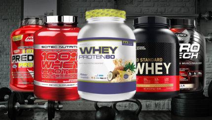 Las 5 mejores proteínas Whey del 2021