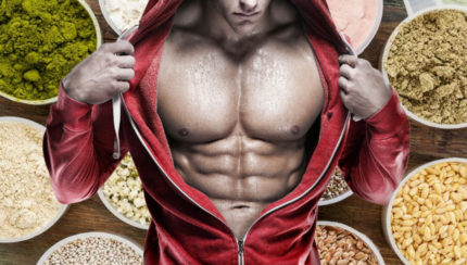 ¿Cuánta proteína vegana para ganar músculos?
