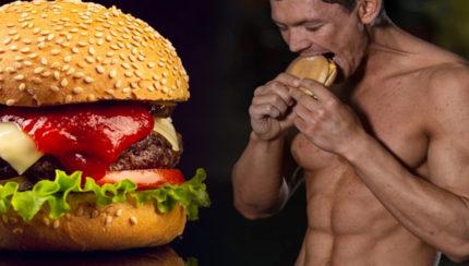 Hamburguesa, ¿héroe o villana en tu dieta deportiva?.