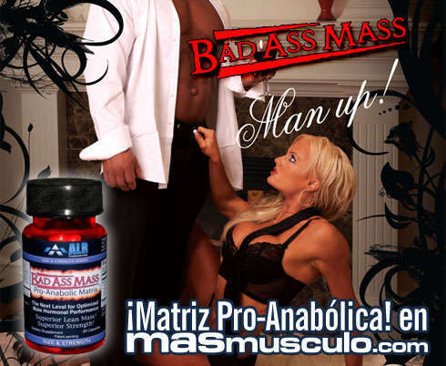 Bad MASS ASS - Matriz pro anabólica