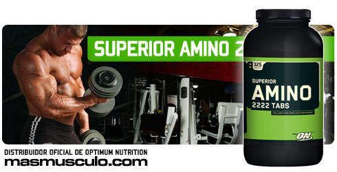 Superior Amino 2222 - 325 Tabs