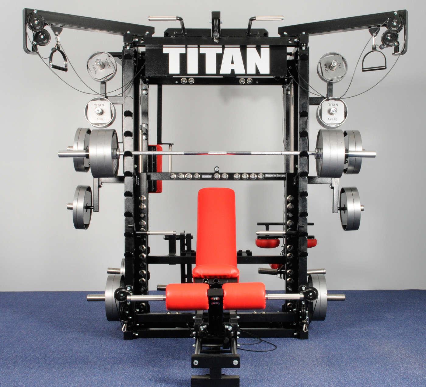 Titan Standard T1 X Titan Fitness
