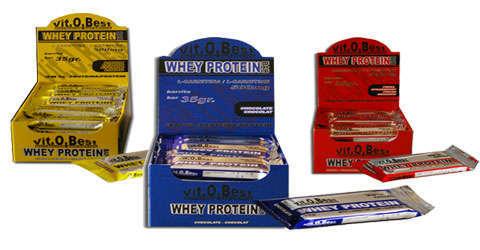 VitOBest Whey Protein Bar