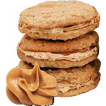Whey Flavor Cookies with peanut butter MM80 by MASmusculo